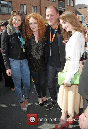 Brooke Vincent, Antony Cotton and Jennie Mcalpine