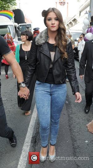 Brooke Vincent Manchester Pride 2012 Manchester, England - 25.08.12