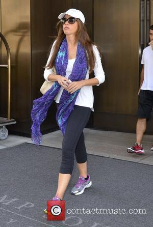 Sofia Vergara and Manhattan Hotel