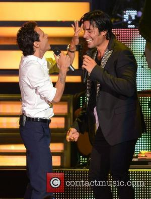 Chayanne and Marc Anthony