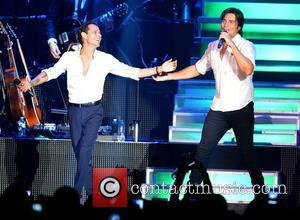 Marc Anthony and Chayanne
