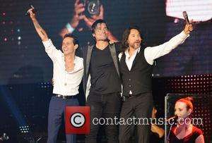 Marc Anthony, Chayanne and Marco Antonio Solis