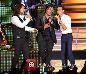 Marco Antonio Solis, Chayanne and Marc Anthony