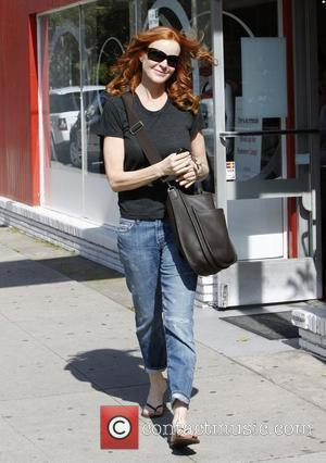 Marcia Cross out and about in Santa Monica  Santa Monica, California - 05.05.12
