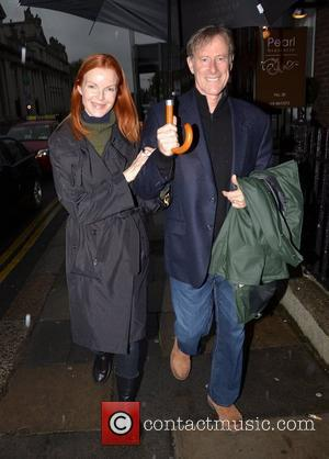 Desperate Housewives, Marcia Cross and Tom Mahoney