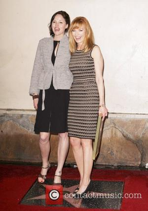 Jorja Fox, Marg Helgenberger Marg Helgenberger receives a star on the Hollywood walk of Fame Los Angeles, California - 23.01.12