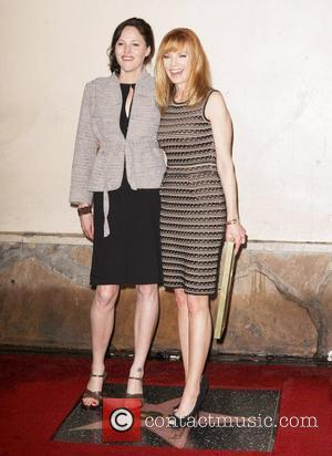 Jorja Fox, Marg Helgenberger and Star On The Hollywood Walk Of Fame