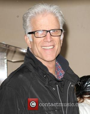 Ted Danson and Star On The Hollywood Walk Of Fame