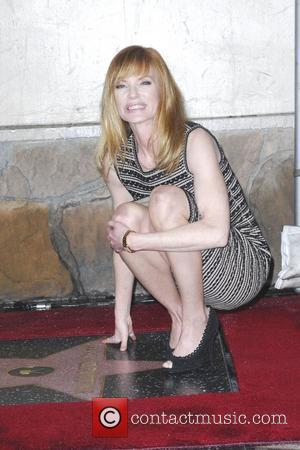 Marg Helgenberger and Star On The Hollywood Walk Of Fame
