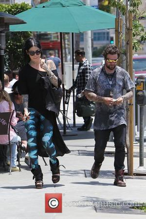 Bam Margera and Kat Von D