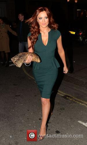 Maria Fowler outside the May Fair hotel with her mother, to go to Novikov for dinner London, England - 01.12.12