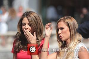 Maria Menounos and Renee Bargh