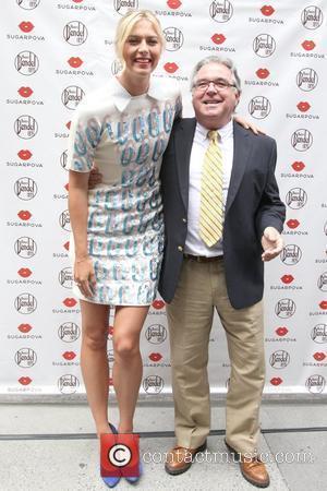 Maria Sharapova and Chris Fiore