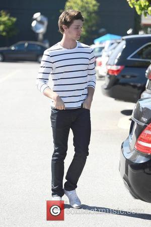 Patrick Schwarzenegger is seen after having lunch in Brentwood Los Angeles, California - 22.02.12