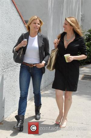 Mariel Hemingway and a friend are seen in West Hollywood Los Angeles, California - 05.05.12,