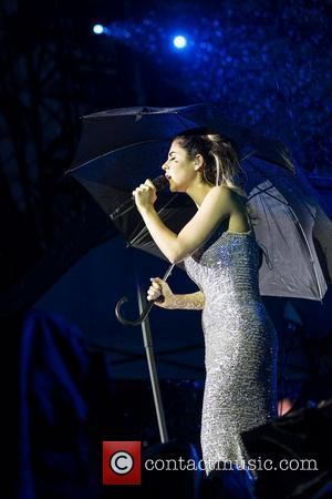 Marina Diamandis of Marina And The Diamonds performing live at Estadio do Dragao. Porto, Portugal - 18.05.12
