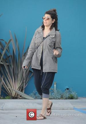 Marisa Tomei  leaving Yoga class in West Hollywood Los Angeles, California - 13.03.12