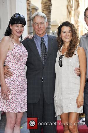 Pauley Perrette, Mark Harmon, Cote De Pablo Mark Harmon is honored with a Hollywood Star on the Hollywood Walk of...
