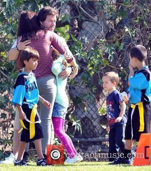 Ella Wahlberg, Rhea Durham, Mark Wahlberg and Brendan Wahlberg