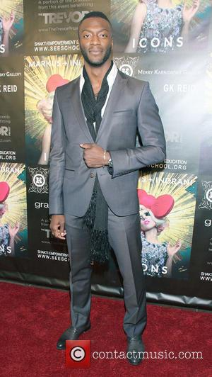 Aldis Hodge Markus + Indrani Icons Book Launch Party Hosted By Carmen Electra Benefiting The Trevor Project at the Merry...