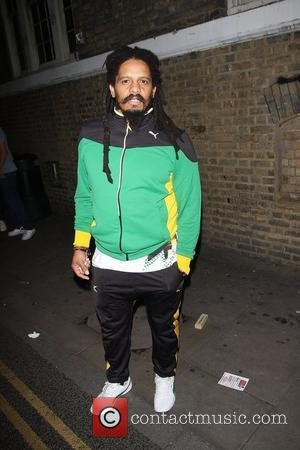 Rohan Marley at Puma Yard to watch the Men's 200m on Day 13 of the London 2012 Olympic Games London,...