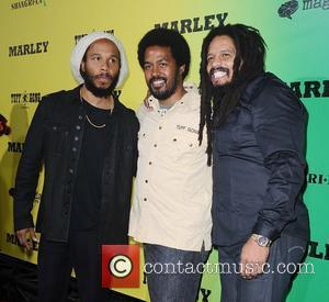 Ziggy Marley and Rohan Marley