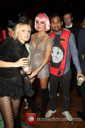 Aziz Ansari  Patron XO cafe presents the 8th annual Maroon 5 Halloween Party held at Forever Cemetery in Hollywood...