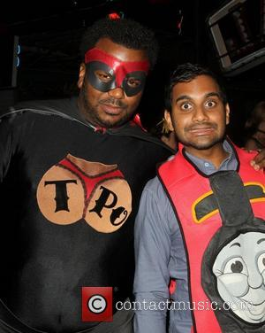 Craig Robinson, Aziz Ansari  Patron XO cafe presents the 8th annual Maroon 5 Halloween Party held at Forever Cemetery...