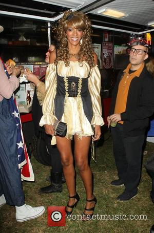Judi Shekoni  Patron XO cafe presents the 8th annual Maroon 5 Halloween Party held at Forever Cemetery in Hollywood...