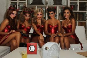 The Saturdays  Patron XO cafe presents the 8th annual Maroon 5 Halloween Party held at Forever Cemetery in Hollywood...