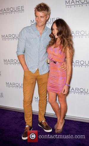 Luke Mitchell and Rebecca Breeds The launch of The Marquee nightclub at The Star - Arrivals Sydney, Australia - 01.04.12