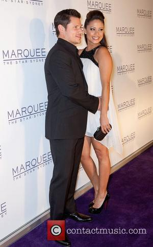 Nick Lachey and Vanessa Minillo The launch of The Marquee nightclub at The Star - Arrivals Sydney, Australia - 01.04.12