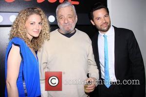 Lauren Molina, Stephen Sondheim and Jason Tam