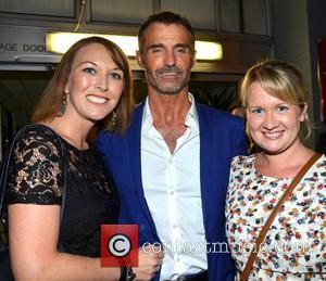 Marti Pellow with fans Audrey Moloney and Dawn Moloney at the stage door of the National Concert Hall after the...