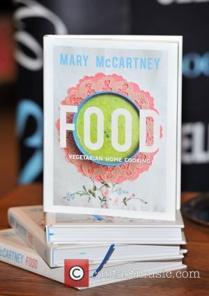 Mary McCartney signs her book 'Food: Vegetarian Home Cooking' at Selfridges. London, England - 28.05.12