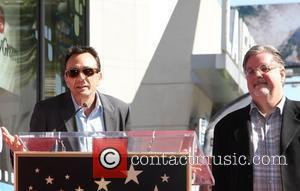 Hank Azaria, Matt Groening and Star On The Hollywood Walk Of Fame