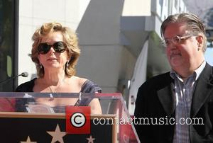 Yeardley Smith, Matt Groening and Star On The Hollywood Walk Of Fame