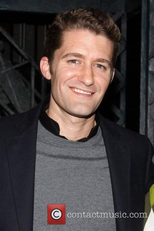 Matthew Morrison   Matthew Morrison from the TV show 'Glee' visits backstage the cast of the Disney Broadway musical...