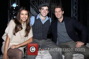 Renee Puente, Corey Cott and Matthew Morrison