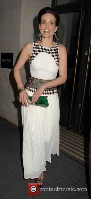 Sophie Anderton ,  at the relaunch of Brazilian Fashion label Colcci at The May Fair Hotel. London, England -...