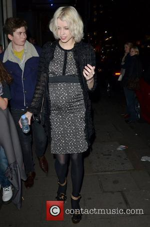 Peaches Geldof Shows Off Baby Bump At Muppets Premiere