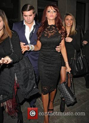 Amy Childs  leaving the Mayfair Hotel London, England - 18.01.12