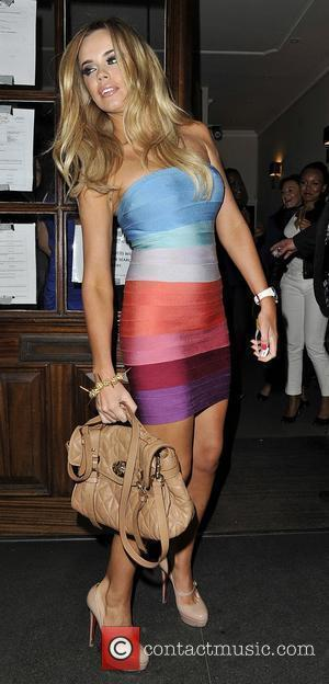 Marie Fowler The Only Way Is Essex star arriving at Funky Buddha London, England - 13.06.12