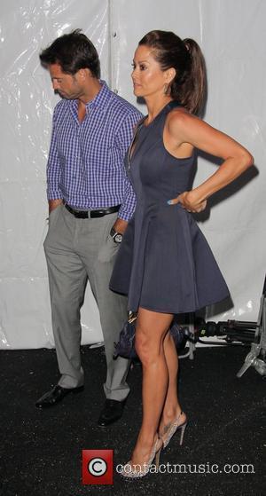 David Charvet and Brooke Burke-Charvet Mercedes Benz Fashion Week - Swim at the Raleigh Hotel for Lisa Blue - Front...