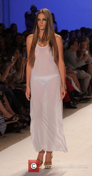 Model, Karina Smirnoff and Mercedes Benz Fashion Week