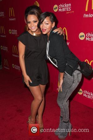 Christina Milian and Meagan Good