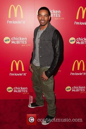 Laz Alonso McDonald's launches new 'Hollywood-style' Chicken McBites  Los Angeles, California - 26.01.12