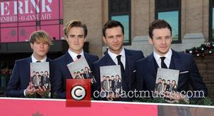 Dougie Poynter, Tom Fletcher, Harry Judd and Danny Jones