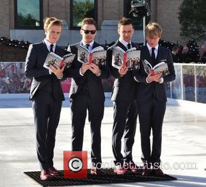 Tom Fletcher, Danny Jones, Harry Judd, Dougie Poynter and Selfridges