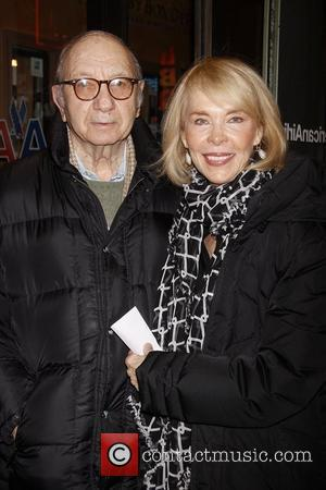 Neil Simon and Elaine Joyce Broadway Opening night of 'The Road To Mecca' at the American Airlines Theatre - Arrivals....
